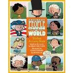 英文原版 普通人改变世界 贴纸活动书 漫画名人传记 Ordinary People Change the World