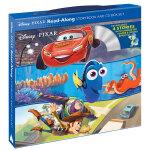 Disney迪士尼故事书+CD套装 寻找多莉,玩具总动员,汽车总动员,头脑特工队 英文原版