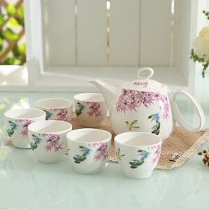 顺祥茶具7件套(花)
