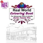 【中商海外直订】Real World Colouring Books Series 25