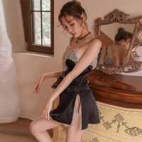吊带睡衣性感制服诱惑情趣内衣激情套装骚挑逗透明睡裙超骚血滴子