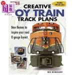 【中商海外直订】Creative Toy Train Track Plans