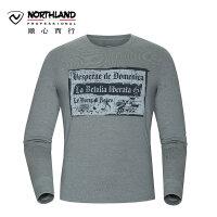 【过年不打烊】诺诗兰NORTHLAND户外男士休闲运动长袖T恤GL065651