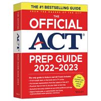 预售【官方直营】2021ACT官方指南(阅读) 备考act美国高考出国留学 大学入学考试书籍 在线模拟试题 英语数学