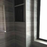 包下水管道瓷砖支架 厨房洗手间阳台遮挡立管瓷砖支架新型材料隔音护板 乳白色 L型2.8米