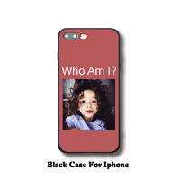 ins网红同款iPhone X手机壳苹果6s全包保护套7/8plus硅胶软壳可爱 【黑边5/5S/SE】who am