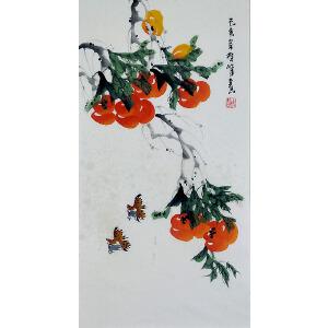 中国美协会员,龙门书画院院长侯桂峰(事事如意2)  67