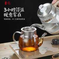 寸年全自动上水壶电热烧水壶智能底部抽水式家用泡茶具玻璃自吸电磁炉