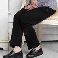 妈妈装长裤子加绒裤加厚奶奶棉裤中老年人女裤秋冬松紧腰外穿太太