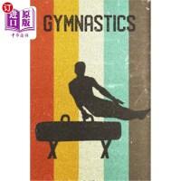 【中商海外直订】Gymnastics Journal: Cool Male Pommel Horse Gymnast