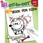 【中商海外直订】Dot-to-Dot Book For Kids Ages 4-8: Children Activit