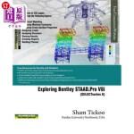 【中商海外直订】Exploring Bentley STAAD.Pro V8i (SELECTseries 6)