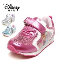 【达芙妮年货节】迪士尼 女童鞋亮片运动鞋女童休闲鞋