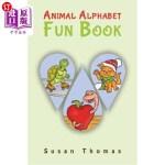 【中商海外直订】Animal Alphabet Fun Book