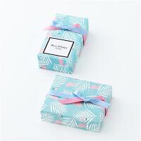 礼物包装纸 热带雨林包装纸超大DIY手工纸礼品礼物包装纸生日礼物礼品纸包书纸礼物教师节礼物 蓝色【10张】