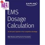【中商海外直订】EMS Dosage Calculation: Math Review and Practice fo