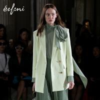 巴黎时装周伊芙丽西装西服女上衣韩版宽松西装外套1AA510821R
