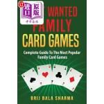 【中商海外直订】Most Wanted Family Card Games: Easy Fun Card Games