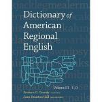 【预订】Dictionary of American Regional English, Volume III: I-