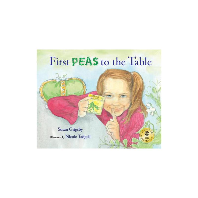 【预订】First Peas to the Table: How Thomas Jefferson Inspired a School Garden 预订商品,需要1-3个月发货,非质量问题不接受退换货。