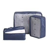旅行收纳袋行李箱收纳袋整理包折叠包便携旅行衣物袋三件套装