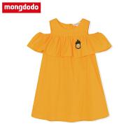 巴拉巴拉旗下超洋气女童连衣裙2019新款夏装儿童中大童纯棉公主裙