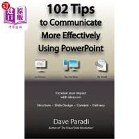【中商海外直订】102 Tips to Communicate More Effectively Using Power