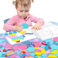 �和�智力七巧板拼�D玩具男孩3-4-5-6�q幼�阂嬷桥�孩�缀�D形�e木