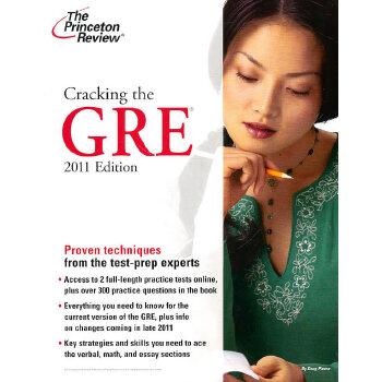 Cracking the GRE, 2011 Edition (Graduate School Test Preparation) 9780375429774