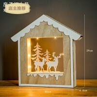 北欧麋鹿壁挂木质家居软装饰品创意奶茶店客厅卧室墙壁墙面挂件SN5944