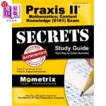 【中商海外直订】Praxis II Mathematics: Content Knowledge (5161) Exa