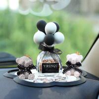 车载香水汽车香薰除异味车内香水座式持久淡香创意汽车装饰品摆件