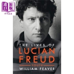 【中商原版】卢西安・弗洛伊德的生活 英文原版 The Lives of Lucian Freud: YOUTH 192