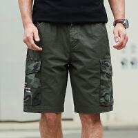 Jeep/吉普官方正品休闲短裤P212MWP133