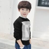 男童针织衫秋装新款长袖毛衣宝宝韩版上衣中大童打底衫儿童毛衫