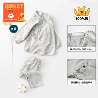 【2020春新品 2件8折价:96】迷你巴拉巴拉婴儿男女宝两件套装小熊维尼纯棉睡衣裤
