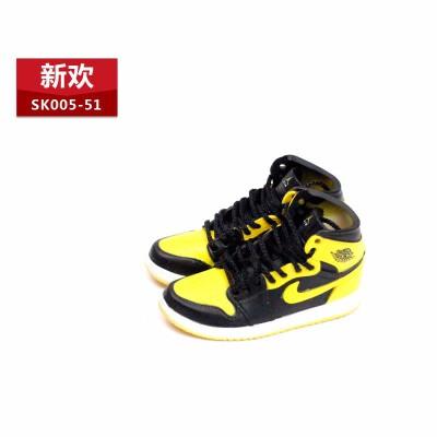 1/6兵人鞋12寸人偶玩具篮球鞋立体鞋模乔1OW联名3D空心鞋模型系列