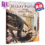 【中商原版】哈利波特与火焰杯 精装插图版 英文原版 Harry Potter and the Goblet of Fi