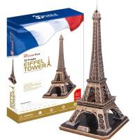 巴黎埃菲尔铁塔仿真建筑拼装模型拼图大人儿童高难度玩具