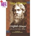 【中商海外直订】Song Offerings English Gitanjali: With Lyrics of th