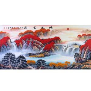 中国美协会员,中国书协会员 侯桂峰(鸿运当头)17