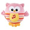 [当当自营]Fisher Price 费雪 声光安抚猫头鹰-粉色 新生儿玩具 CDT12