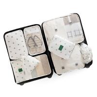 旅行收纳包套装衣服袋子旅游内衣分装便携行李箱衣物分类整理袋