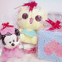 100个装毛绒玩具透明袋印花塑料礼品袋市礼品包装袋家居家纺收纳用品收纳袋置物袋包装袋