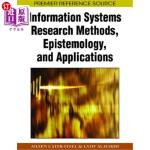 【中商海外直订】Information Systems Research Methods, Epistemology,