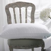 酒店专用枕头一对装单人全棉超软低中高枕芯