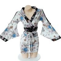 日式印花和服情趣内衣激情用品套装性感制服诱惑角色扮演用品时尚印花和服套装7060