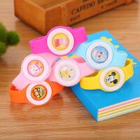 创意液态驱蚊手表可爱儿童环保无毒驱蚊贴婴儿孕妇户外硅胶防蚊扣