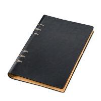 六孔活页纸 笔记本子可拆卸活页夹简约A5B5A4活页记事本女 可替换活页本外壳活页替芯可定制 BX