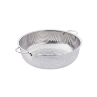 不锈钢沥水淘米器厨房洗菜盆 家用圆形洗菜篮子漏盆洗菜篮